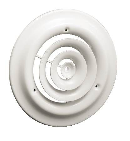 CLEARANCE FG-8 FAN GRILLE/ROUND CEILING DIFFUSER FOR 8 INCH OPENING