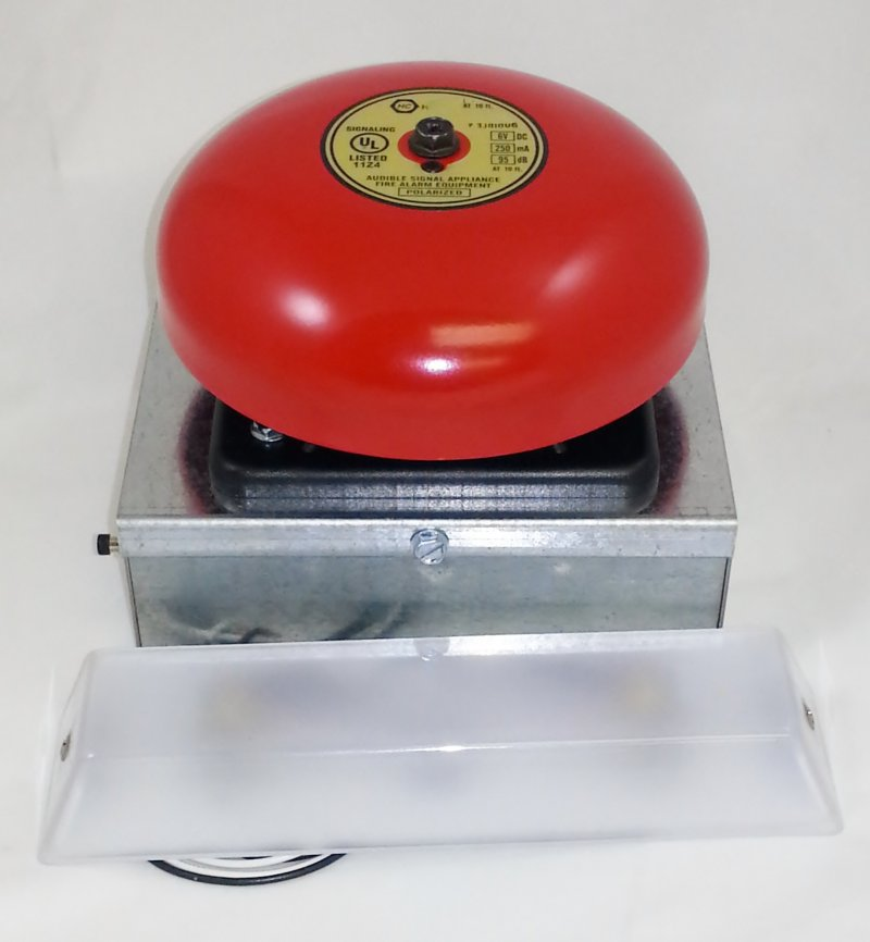 EL-RL Elevator Emergency Light with Alarm Bell and Remote Light Source