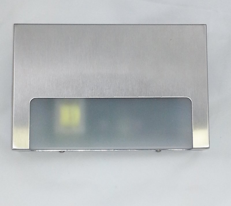 EL-SM Elevator Emergency Light, Stainless Steel Surface Mount