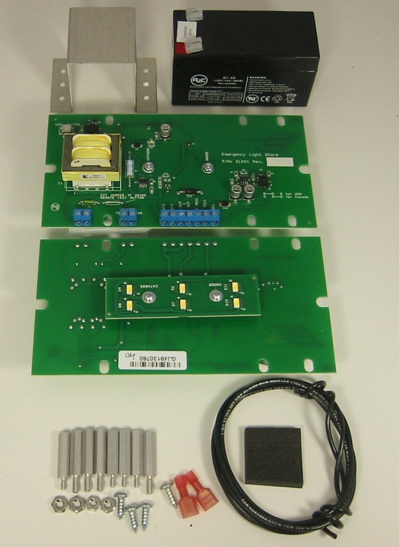 Image 0 of EL-ELK01 Elevator Emergency Light Replacement Kit