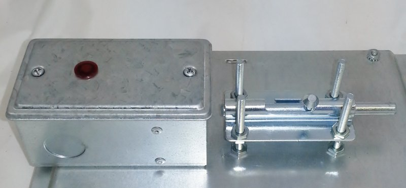 Image 1 of ETES-2L Elevator Top Exit Interlock Switch with Indicator Light
