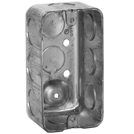 Handy Utility Box  Steel  1 7 8   D