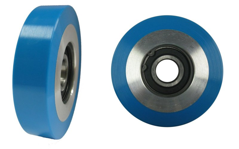 GR-MW3 ROLLER GUIDE AND ESCALATOR WHEEL 3-15/16'' OD