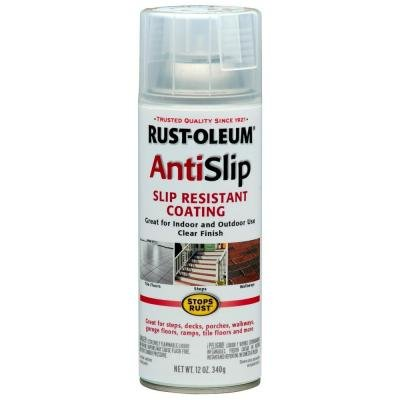 RUST-OLEUM ANTI-SLIP SLIP RESISTANT SPRAY COATING