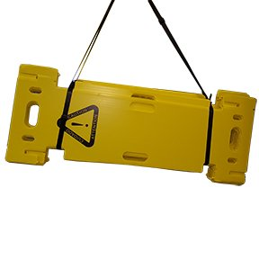 Image 2 of PORTABLE ACCORDION-FOLD POLYPROPYLENE BARRICADE SET