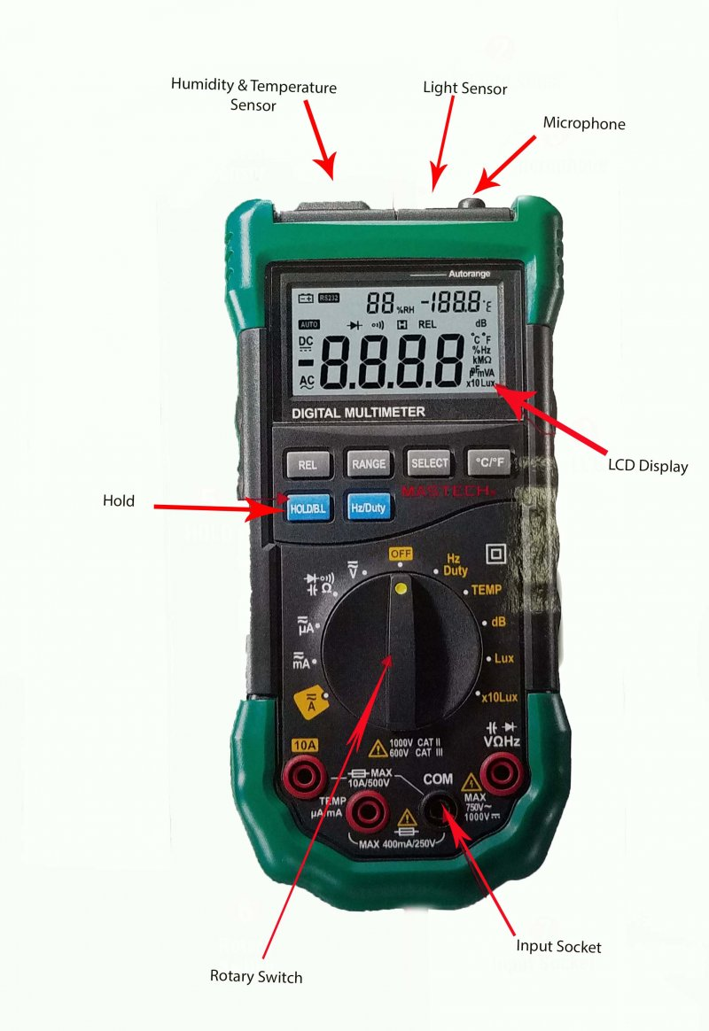 Image 0 of DISCONTINUED: Auto Ranging Digital Multimeter