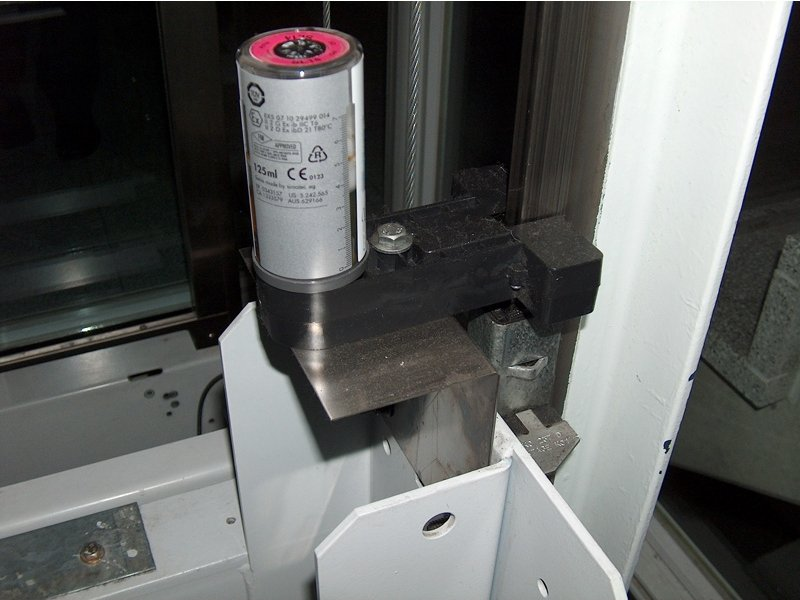 Image 1 of Simalube Elevator Rail Lubrication System