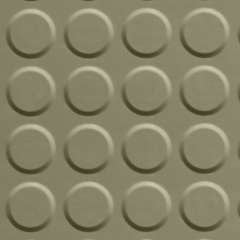 Image 0 of RUBBER TILE - RAISED ROUND SURFACE