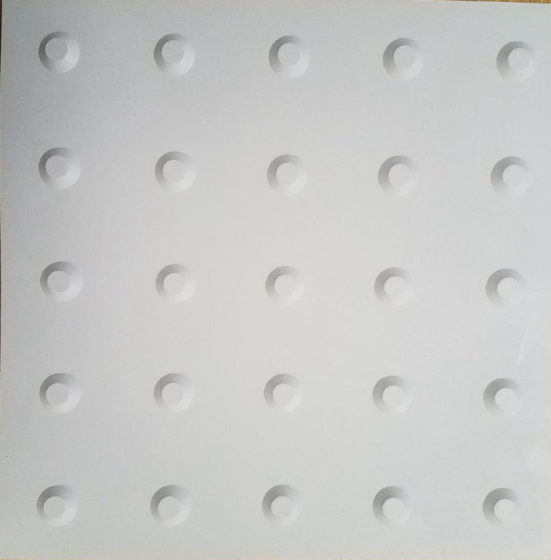 Image 1 of Tactile Warning Tile Domes 24 x 24