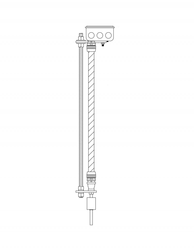 HOLTS OIL LEVEL AND TEMPERATURE SENSOR