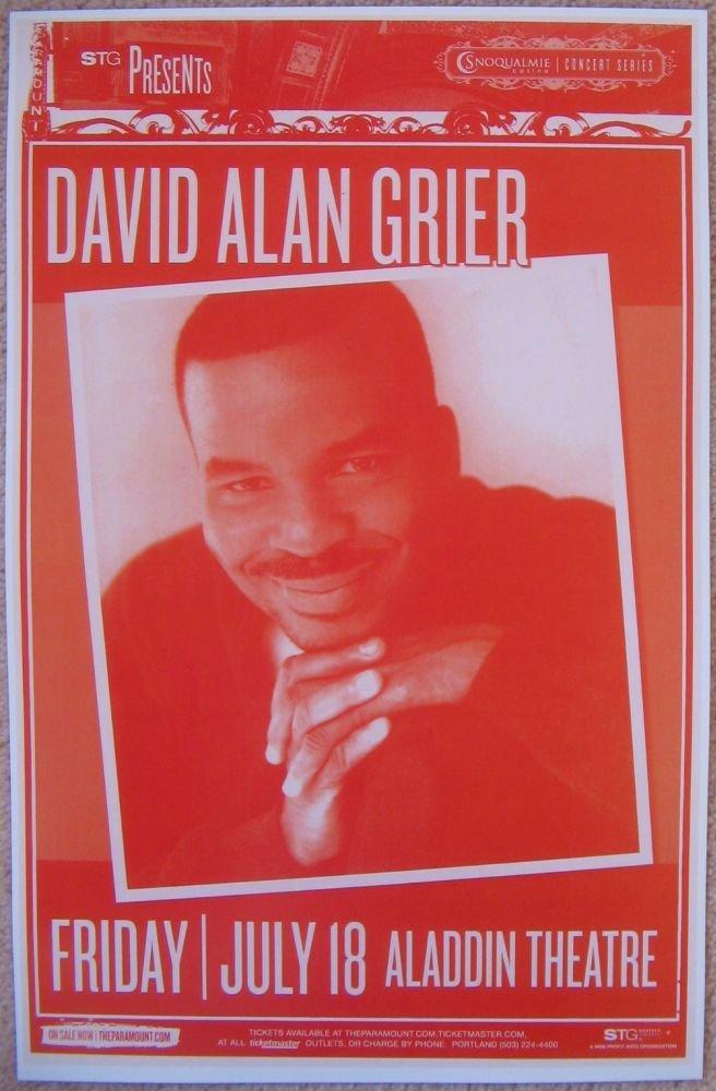 Image 0 of Grier DAVID ALAN GRIER 2008 Gig POSTER Portland Oregon Comedy