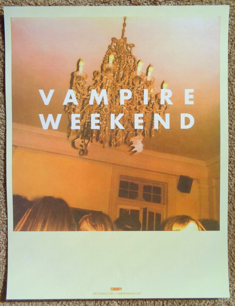 VAMPIRE WEEKEND Debut Album POSTER