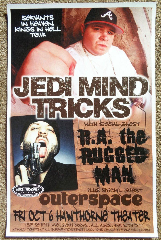 Image 0 of JEDI MIND TRICKS 2006 Gig POSTER Portland Oregon Concert