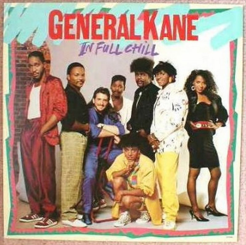 GENERAL KANE Album POSTER In Full Chill 2-Sided 12x12
