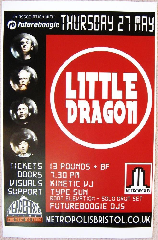 Image 0 of LITTLE DRAGON 2010 Gig POSTER Bristol England UK Concert