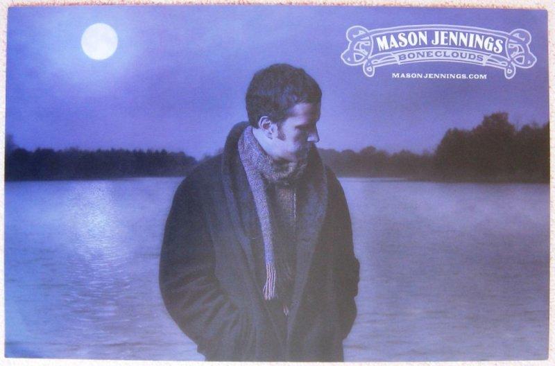 Image 1 of Jennings MASON JENNINGS 2006 Boneclouds Album POSTER 2-Sided