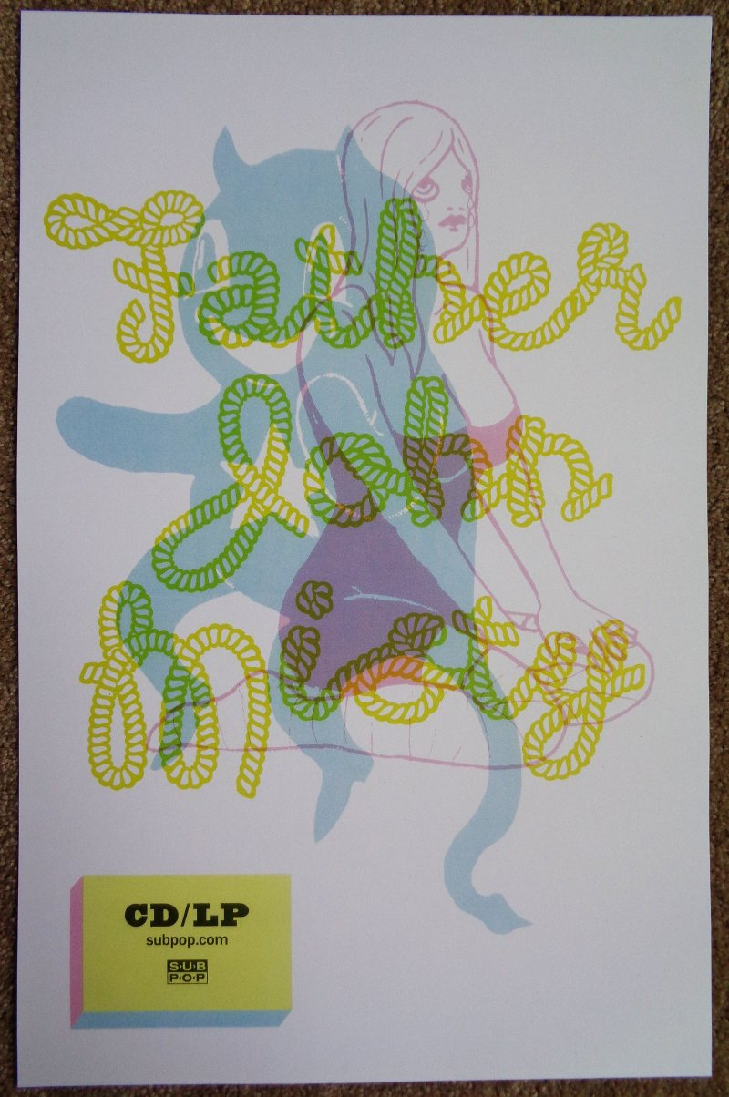 Image 1 of FATHER JOHN MISTY Fear Fun POSTER 2-Sided