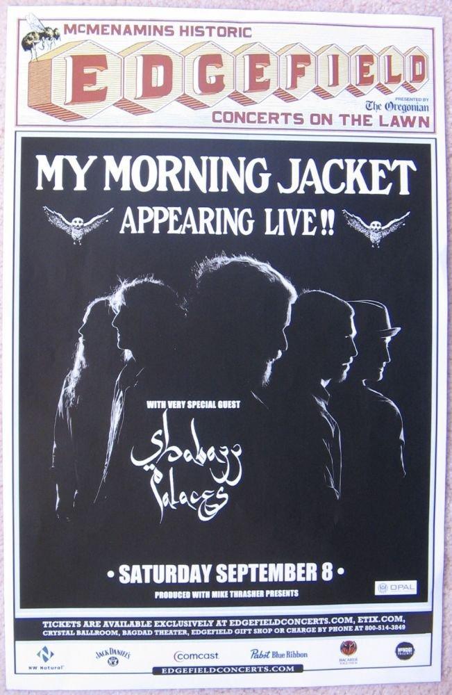 Image 0 of MY MORNING JACKET 2012 Gig POSTER Edgefield Portland Oregon Concert Version 2
