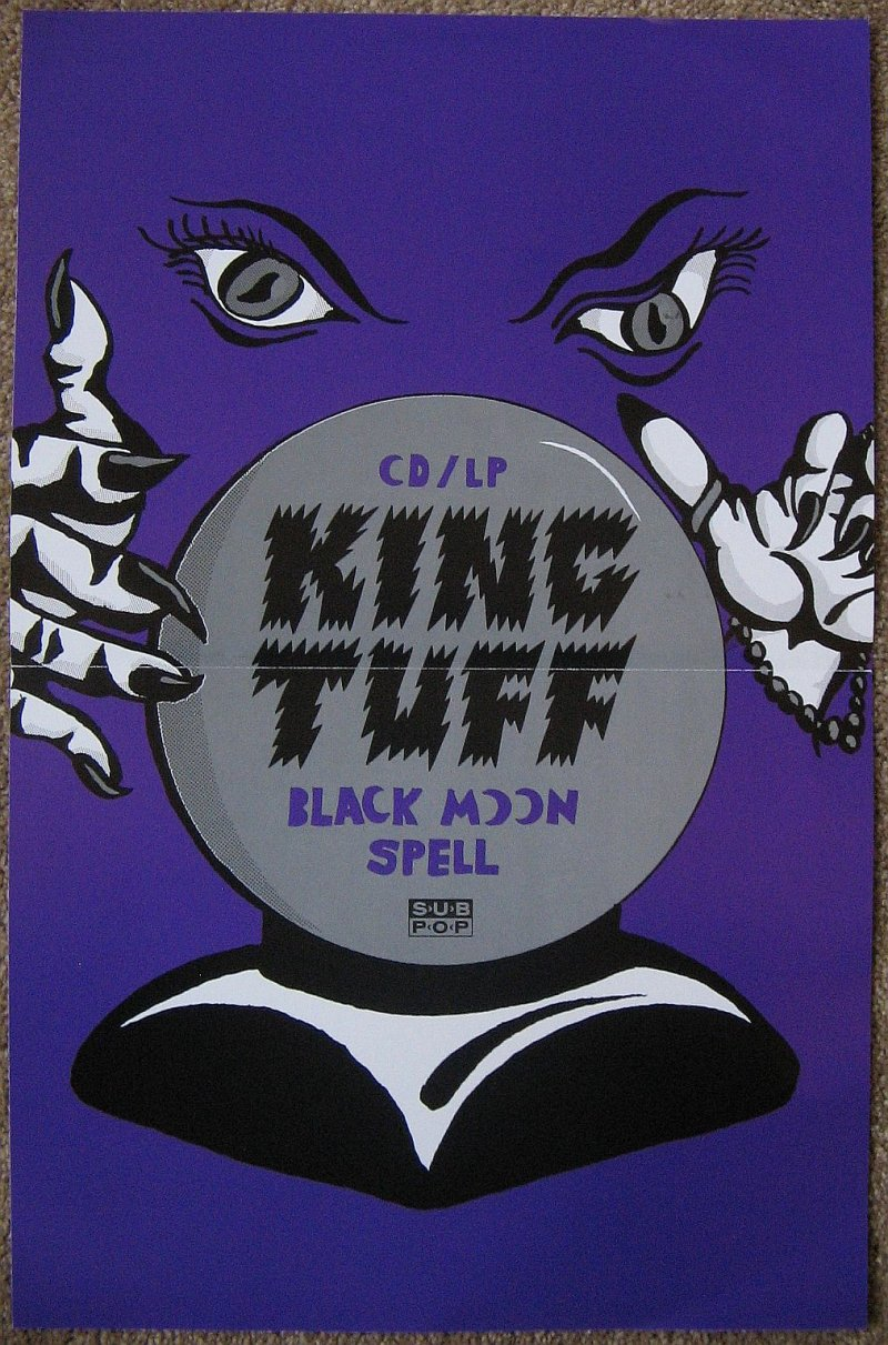 Image 0 of KING TUFF Album POSTER Black Moon Spell 11x17