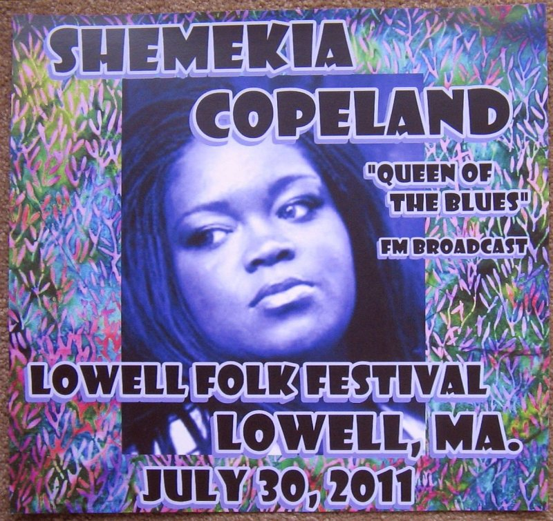 Image 0 of Copeland SHEMEKIA COPELAND 2015 Gig POSTER Concert Lowell Massachusetts