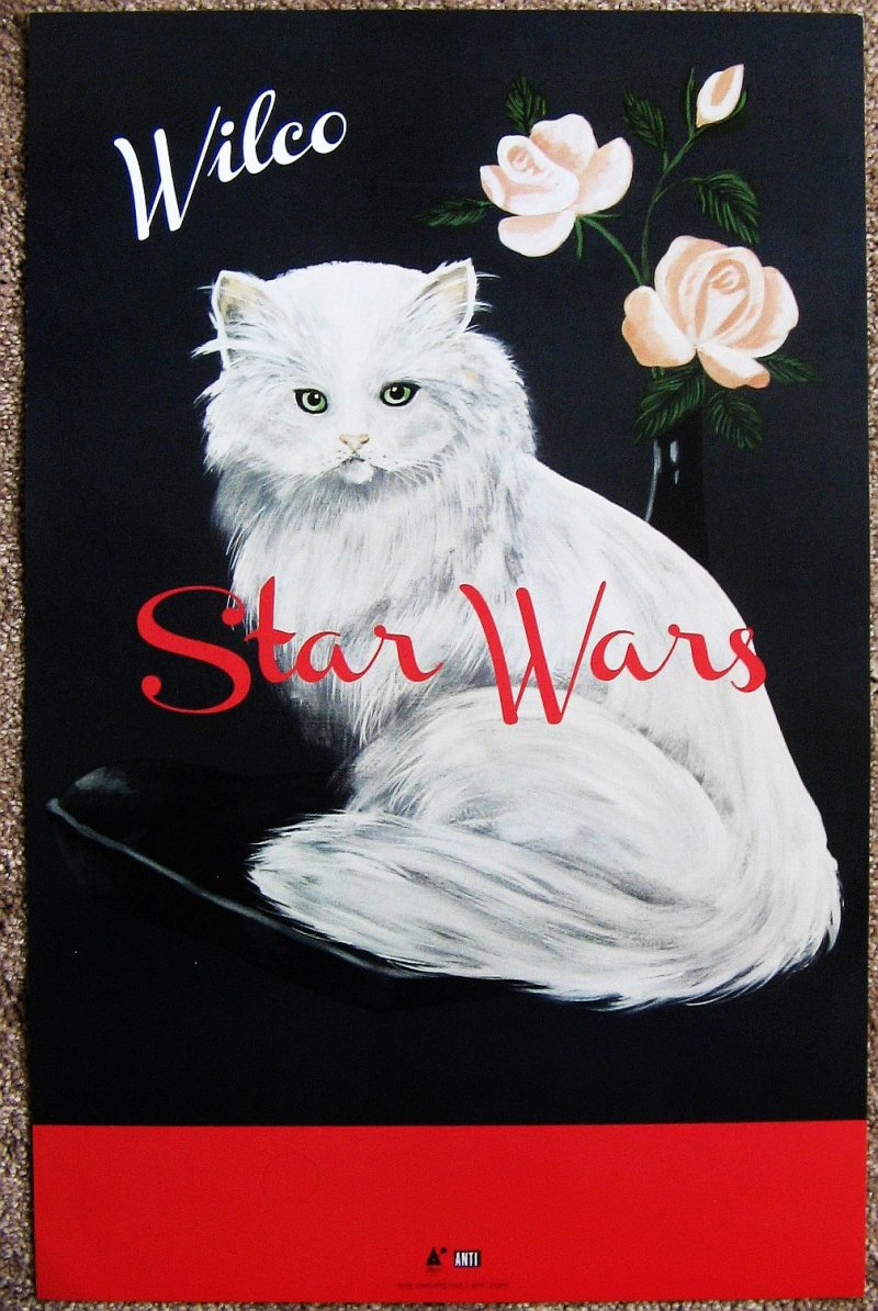 WILCO Star Wars POSTER 11x17