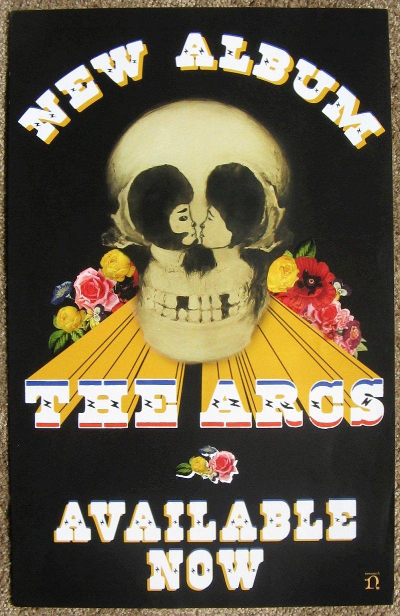 Arcs THE ARCS Album POSTER Years  Dreamily Dan Auerbach BLACK KEYS