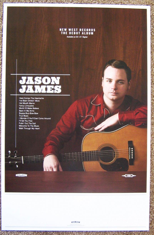 Image 1 of James JIM JAMES Album POSTER Uniform Distortion MY MORNING JACKET 11x17
