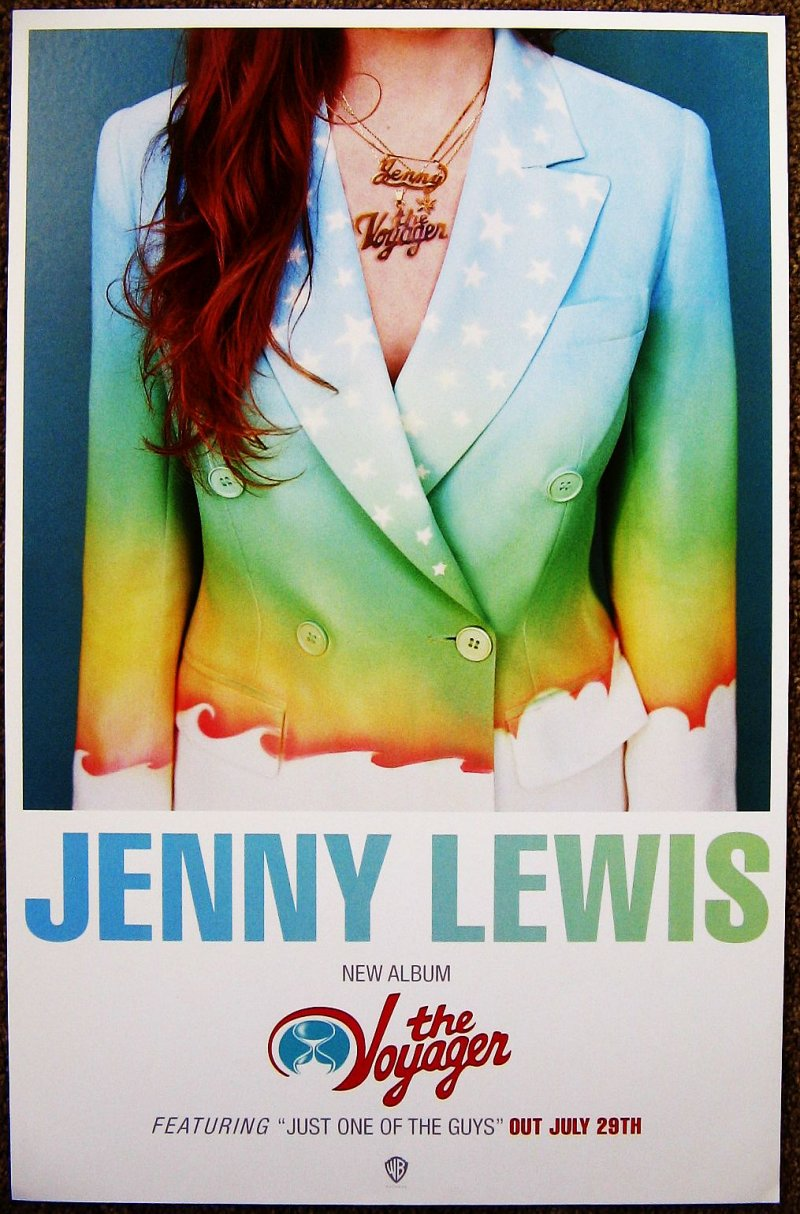 Image 0 of Lewis JENNY LEWIS Album Poster The Voyager 11x17