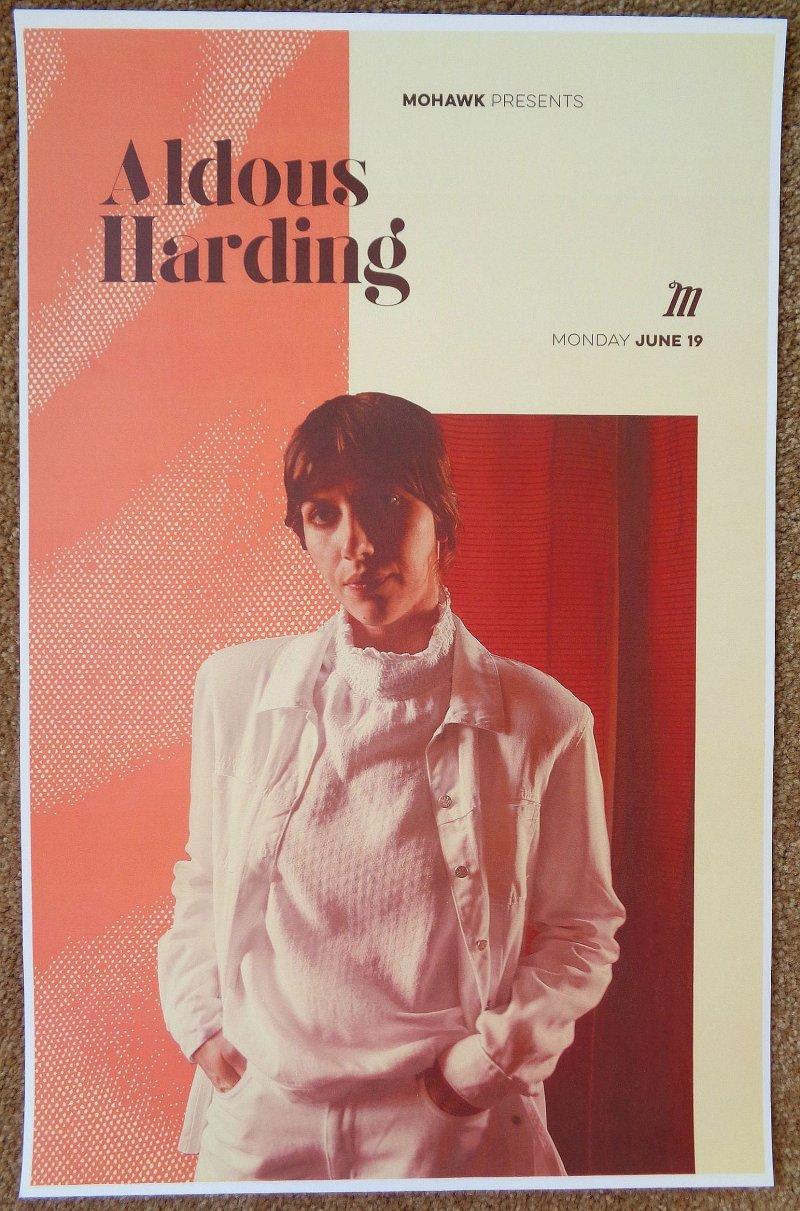 Image 0 of Harding ALDOUS HARDING Gig POSTER 2017 Austin Texas Concert