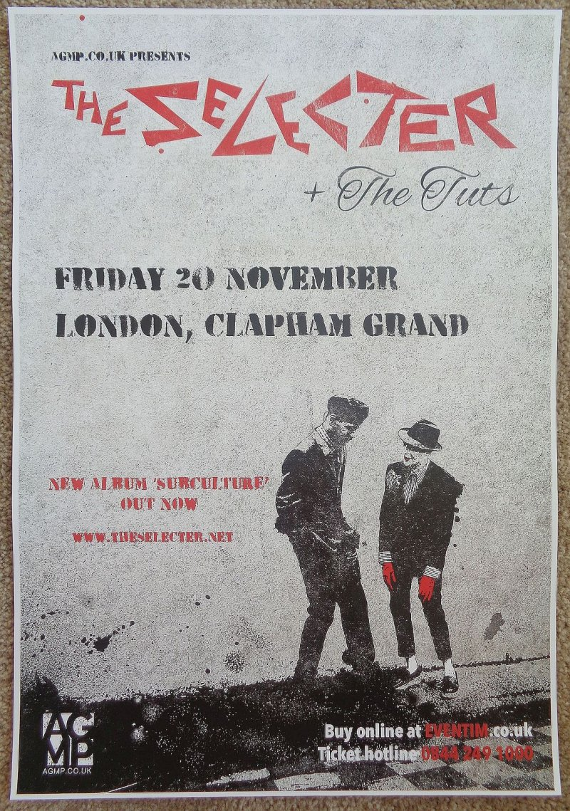 Image 0 of Selecter THE SELECTER 2015 Gig Ska POSTER London Concert United Kingdom