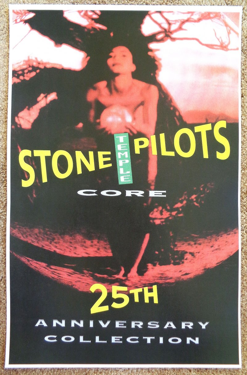 Image 0 of STONE TEMPLE PILOTS Album POSTER Core 2017 ReRelease 25th Anniversary Collection