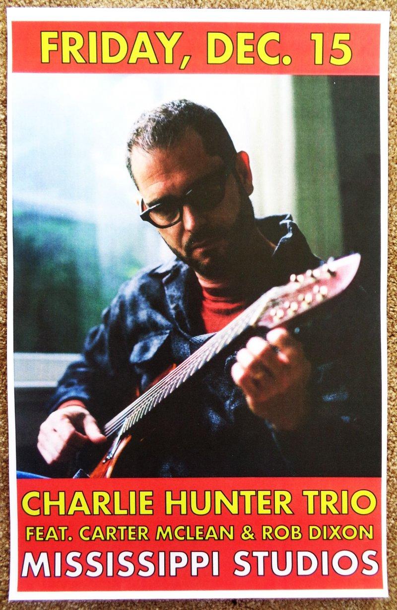 Image 0 of Hunter CHARLIE HUNTER TRIO 2017 Gig POSTER Portland Oregon Concert