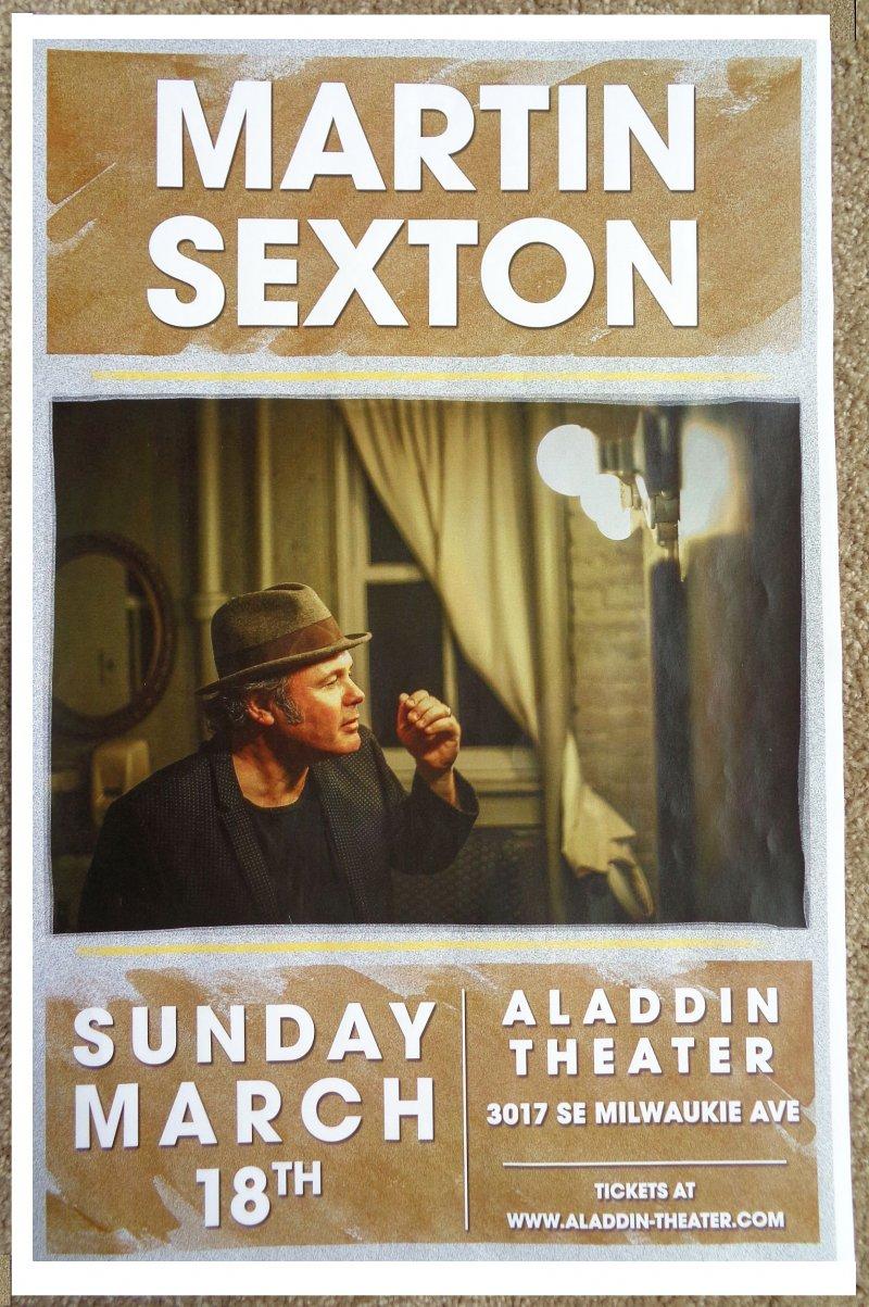 Image 0 of Sexton MARTIN SEXTON 2018 Gig POSTER Portland Oregon Concert