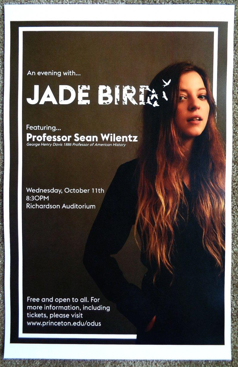 Image 0 of Bird JADE BIRD 2017 Gig POSTER Princeton New Jersey Something American Concert