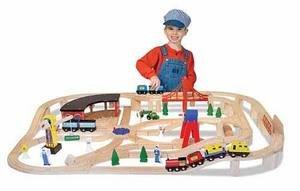Z   Wooden Railway Set