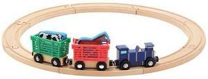 Z   Farm Animal Train Set