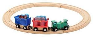 Z   Zoo Animal Train Set