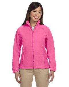 Harrington Ladies  Full Zip Fleece   Charity Pink   L