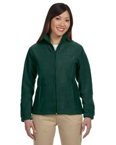 Harrington Ladies  Full Zip Fleece   Hunter   L