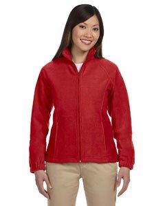 Harrington Ladies  Full Zip Fleece   Red   L