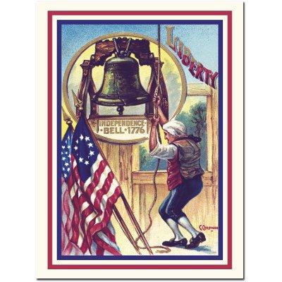 Americana   Liberty Bell Card