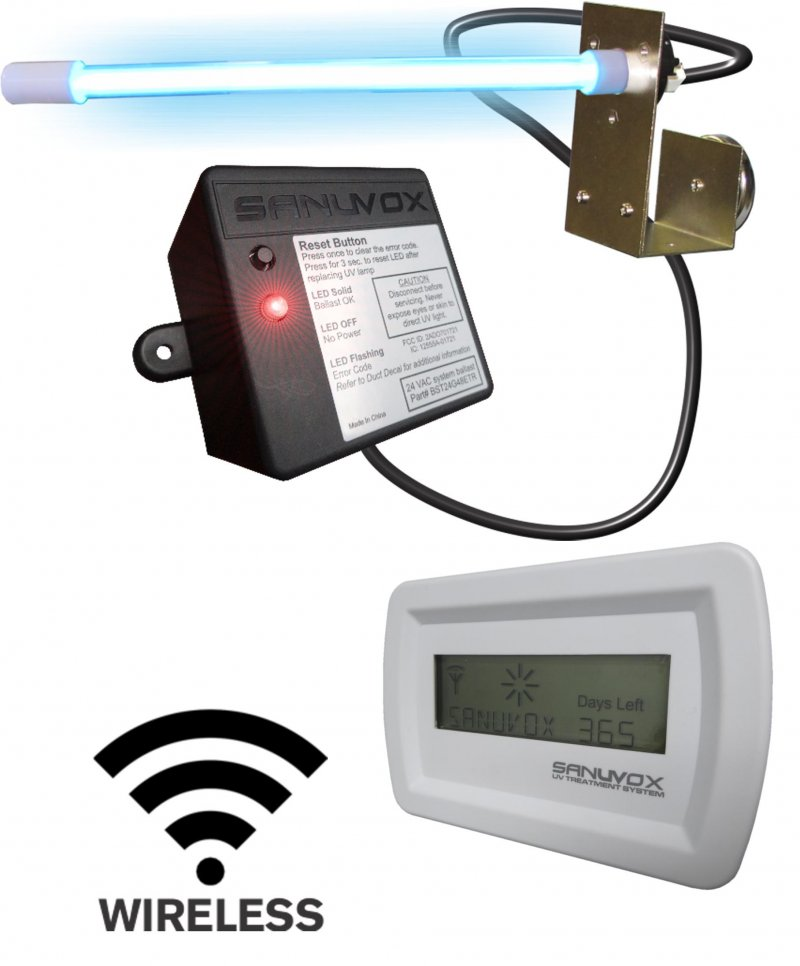 Sanuvox Saber SMART UV Purifier   SABERPW16 24 GM2