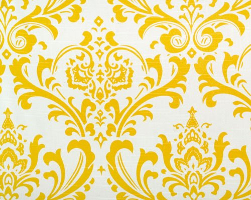 Image 0 of Custom Ironing Board Cover: Traditions Cornflower Yellow