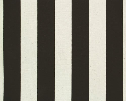 Canopy Stripe Black & White Tablecloths