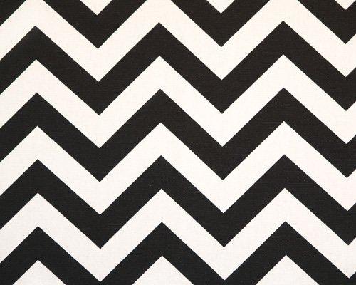 Extra LONG Chevron Black & White Tablecloths