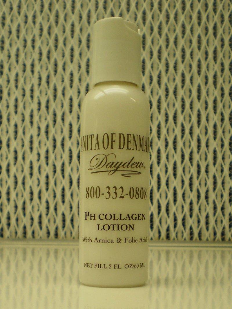 Anita Of Denmark PH Collagen Lotion With Arnica & Folic Acid 2oz 60ml