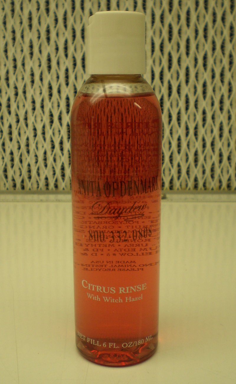 Anita Of Denmark Citrus Rinse With Witch Hazel 6oz