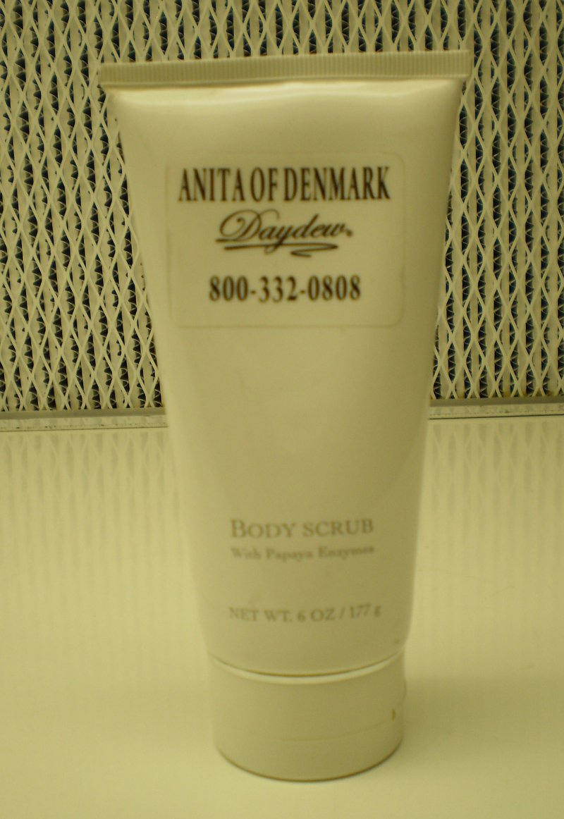 Anita Of Denmark Body Scrub With Papaya Enzymes 6oz