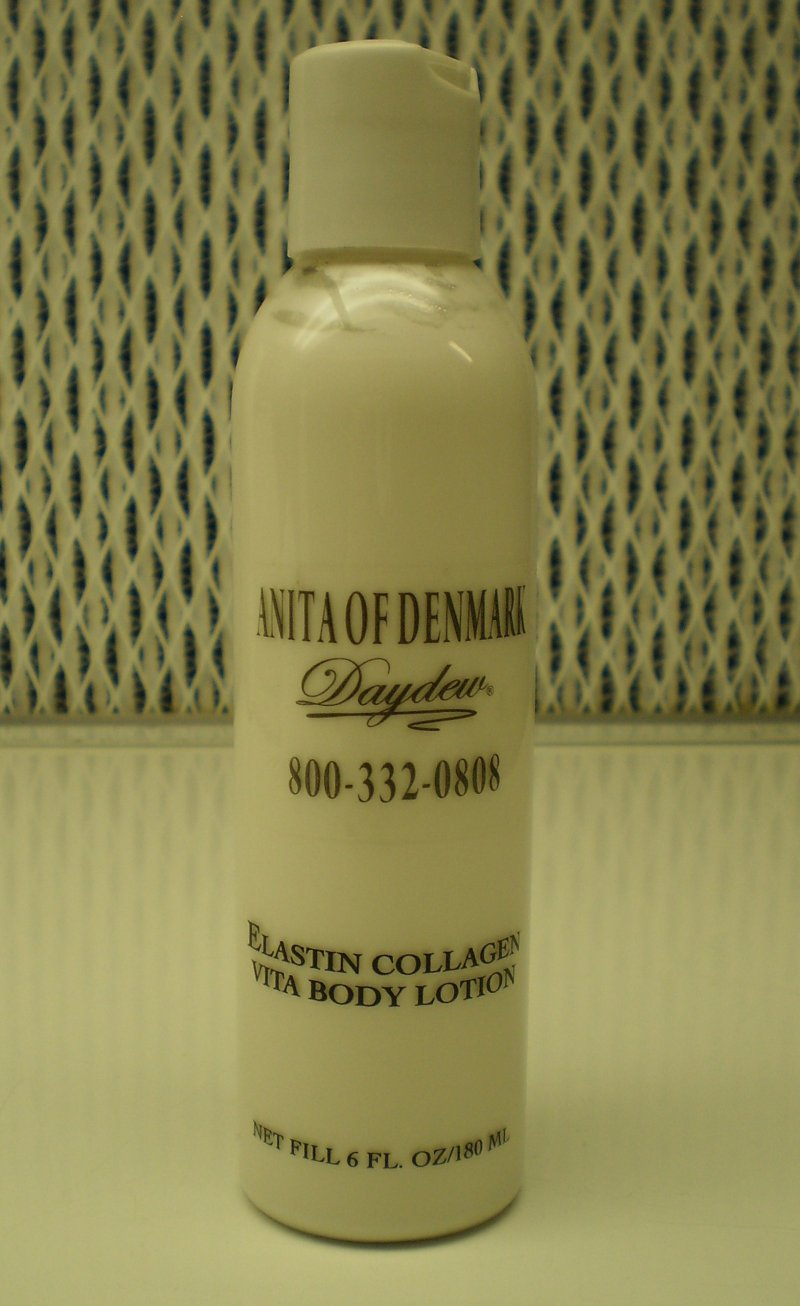 Anita Of Denmark Elastin Collagen Vita Body Lotion 6 oz   180 mL