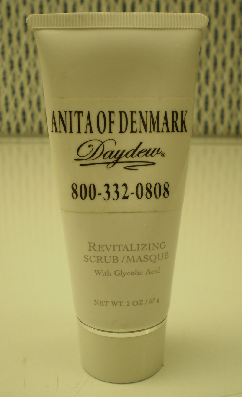 Anita Of Denmark Hydrating Masque with Vitamins C  E and Gingko Biloba